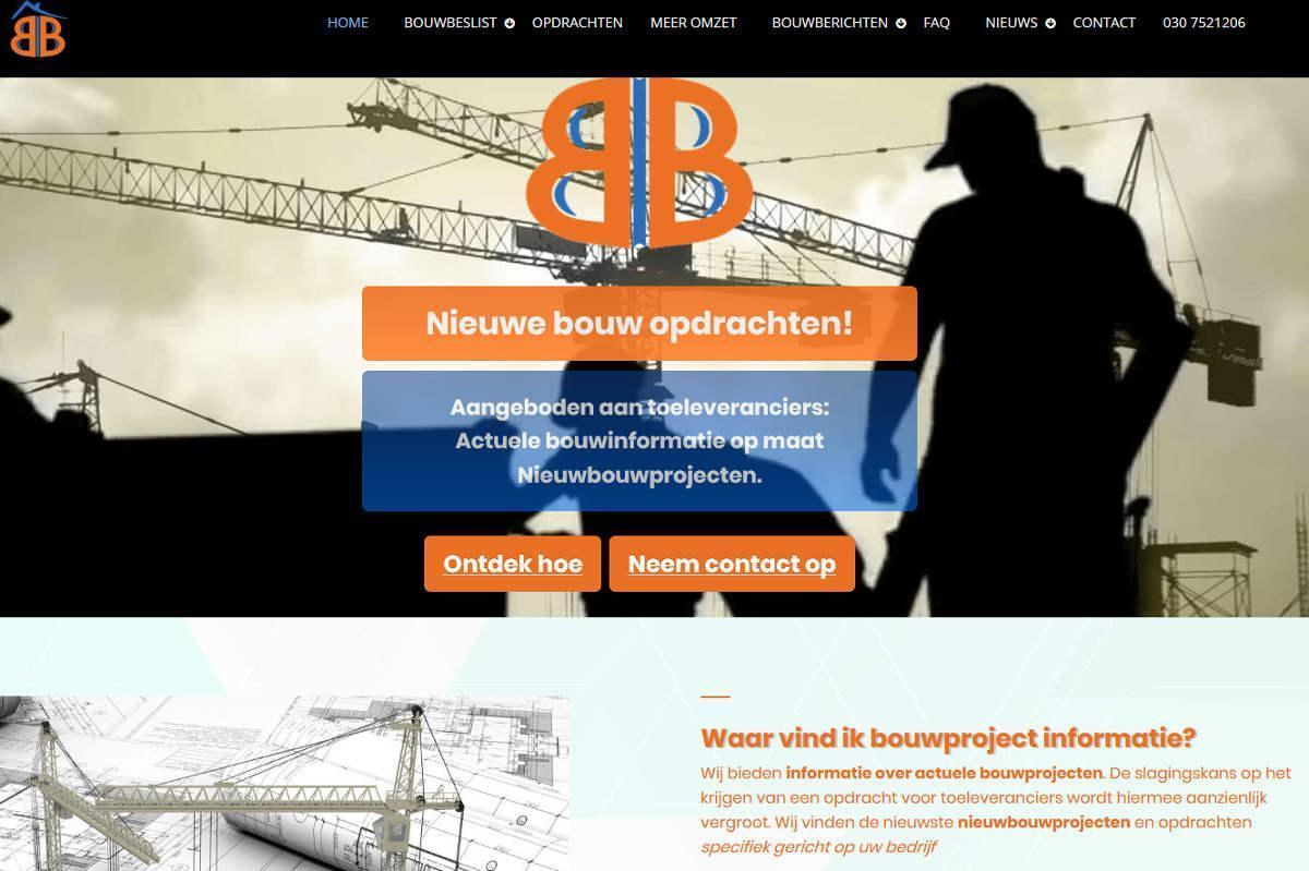 Joomla website bouwbeslist