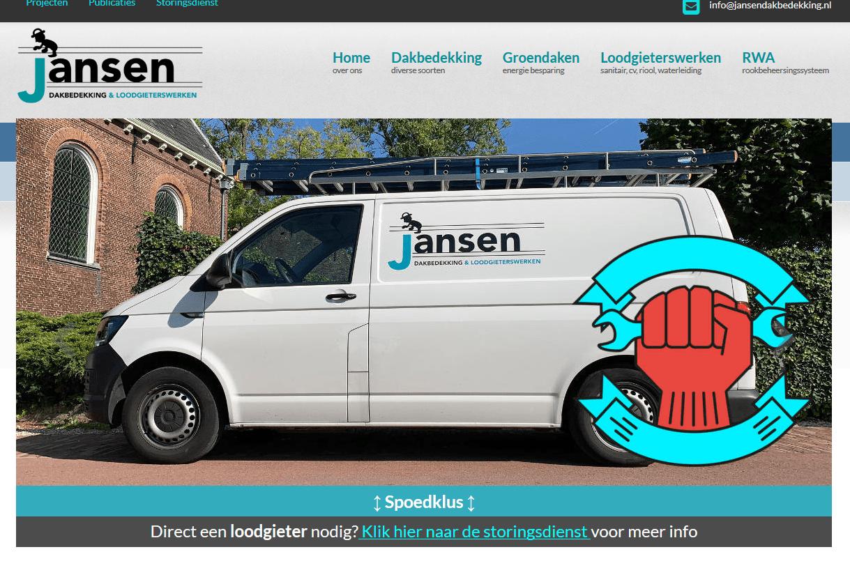 Joomla website Jansendakbedekking