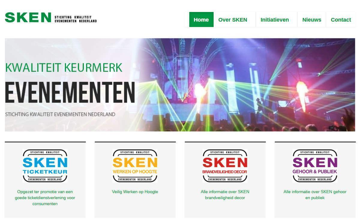 Joomla website SKEN