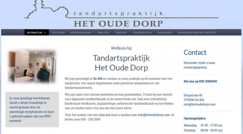 Tandartspraktijk Het Oude Dorp...