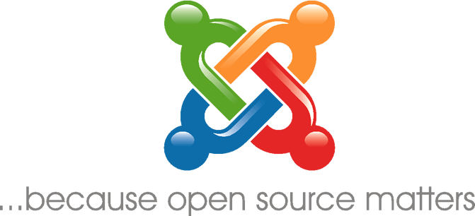 Joomla open source cms - logo
